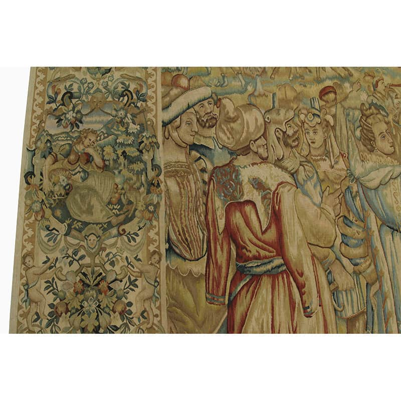 16th Century Tapestry Recreation Quot Celebration Of Battle Quot 9