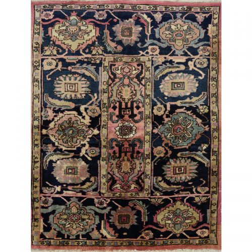 Persian Heriz Area Rug - 3.5 X 4.5 Multi - 110272