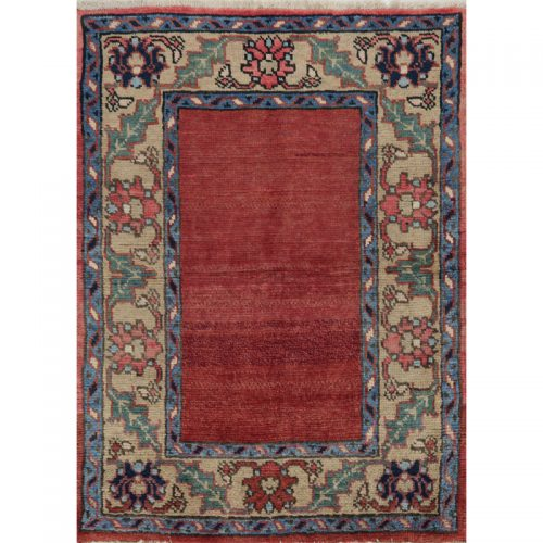 Persian Heriz Area Rug - 2.11 X 3.10 Multi - 110355