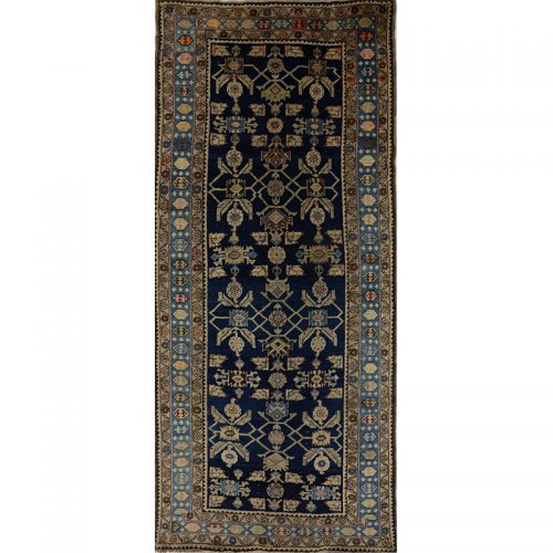 Antique Persian Malayer Area Rug 4.1x9.8 - A109360