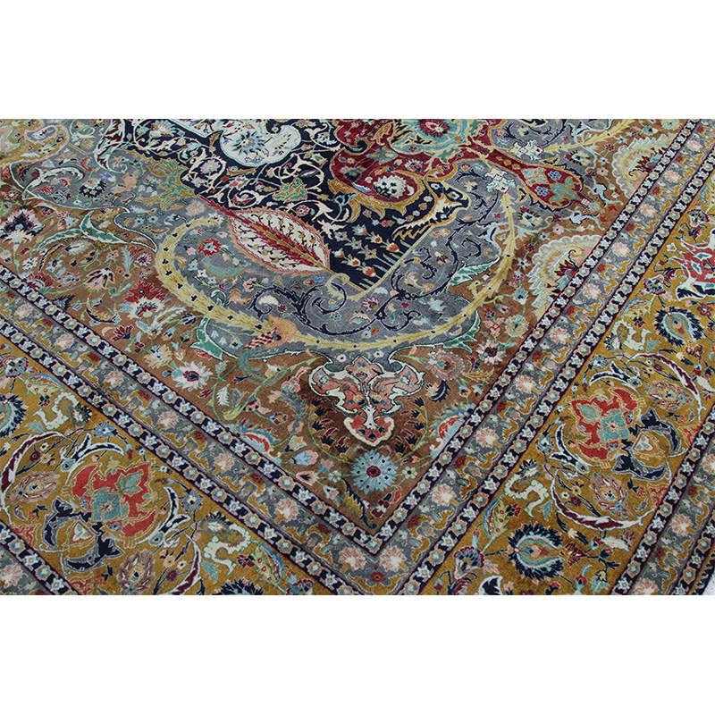 Traditional Old Handwoven Persian Tabriz Area