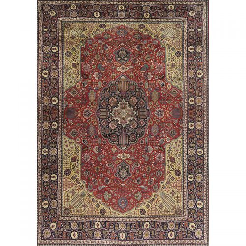 Old Persian Josheghan Area Rug 10.1x13.4 - A109353