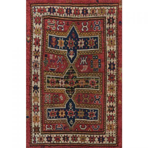 4x7 Old Persian Shiraz Area Rug - 110262