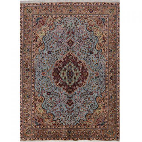 "4'7"" x 6'9"" Old Persian Tabriz Masterpiece Rug - 110572"