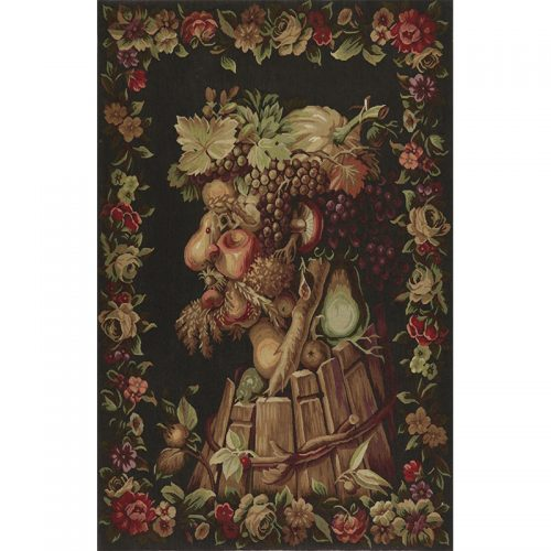 Tapestry Fruit Basket Optical Illusion 36x55- RenID 10112