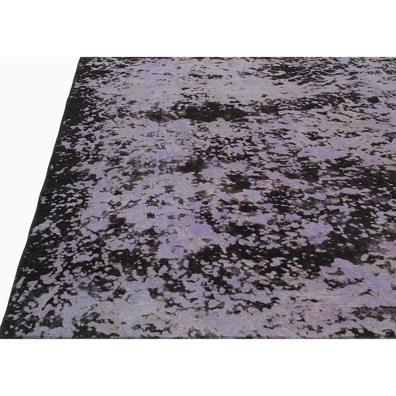 Vintage Distressed Overdyed Persian Area Rug 7 8x10 0