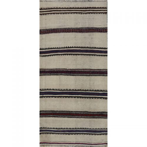 Traditional Flatweave Persian Kilim Tribal Rug 2.4 x 5.1 - 109260