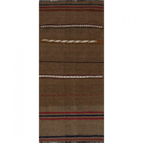 Traditional Flatweave Persian Kilim Tribal Rug 2.6 x 5.5 - 109261