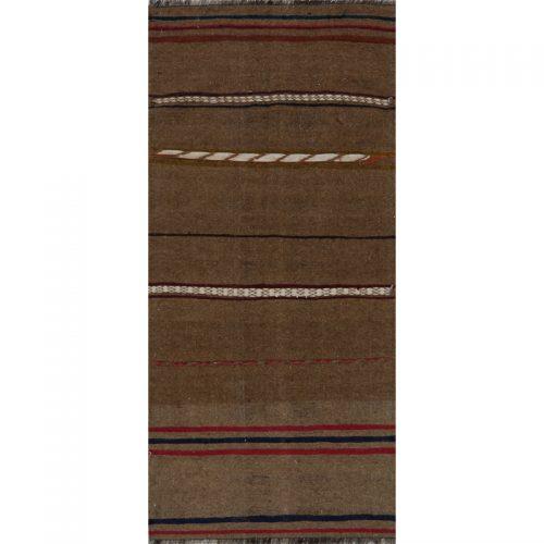 Traditional Flatweave Persian Kilim Tribal Rug 2.6 x 5.5 - 109261