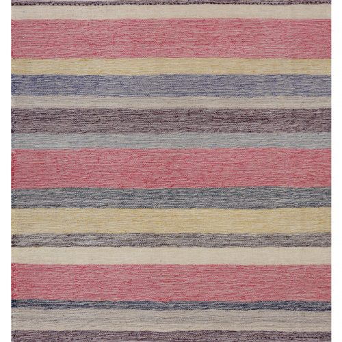 Contemporary Hand-woven Flatweave Persian Kilim Rug 2.6 x 2.8 - 109949