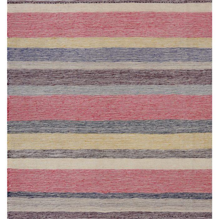 Contemporary Hand-woven Flatweave Persian Kilim Rug 2.6 x 2.8 - 109949