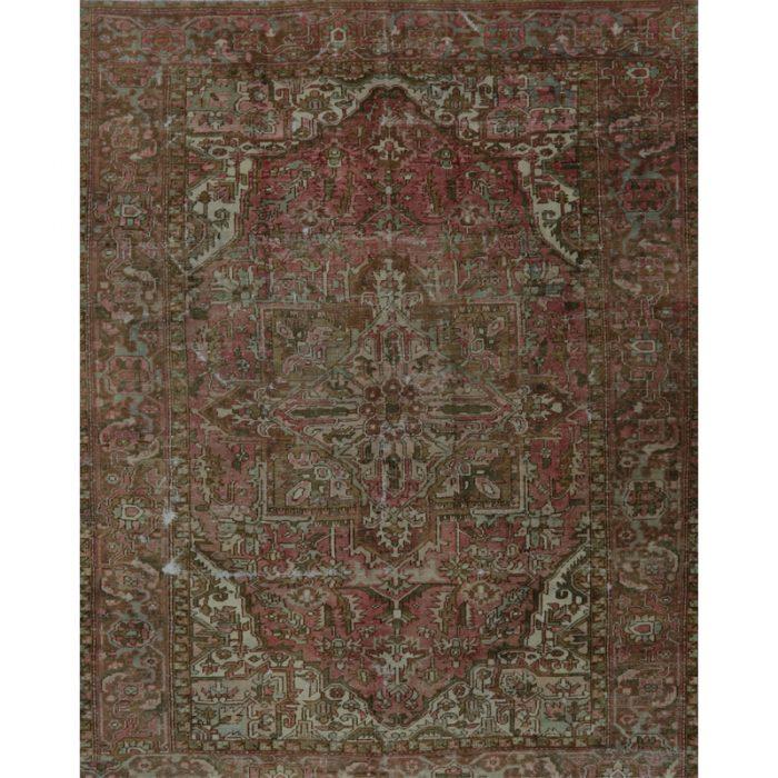 A109243 - 9x11 Vintage Persian Heriz Area Rug