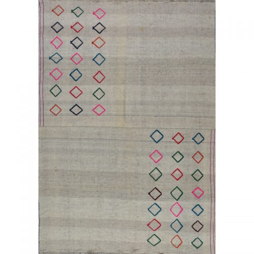 Traditional Flatweave Persian Kilim Tribal Rug 5.5 x 7.10 - 109289