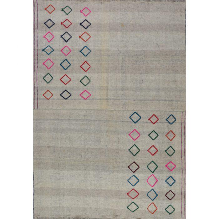 Traditional Flatweave Persian Kilim Tribal Rug 5.5 x 7.10 - 109289