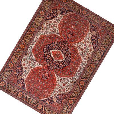 107462 – Antique Hand-woven Persian Farahan Rug 9.0 x 12.0