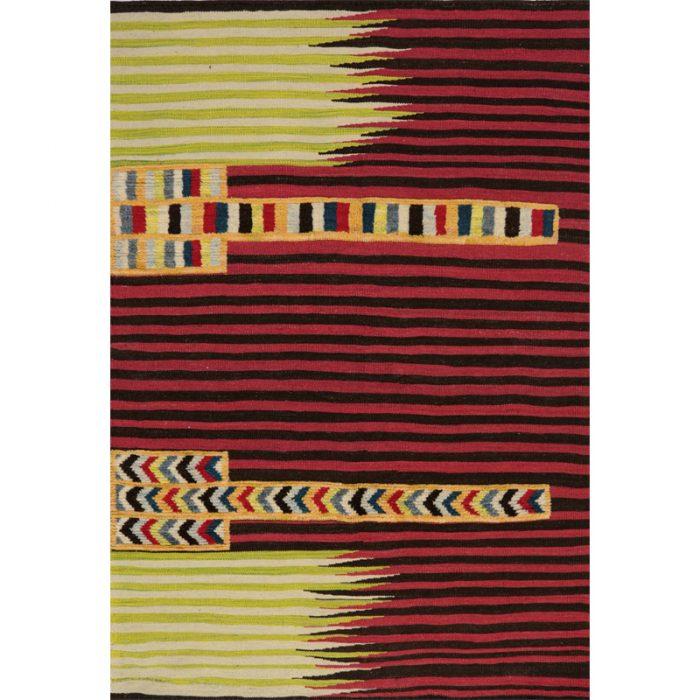 109459 - Persian Kilim Area Rug 4.1x5.9