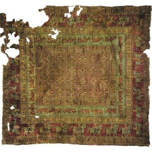 The Pazyryk Carpet - oldest intact rug in the world