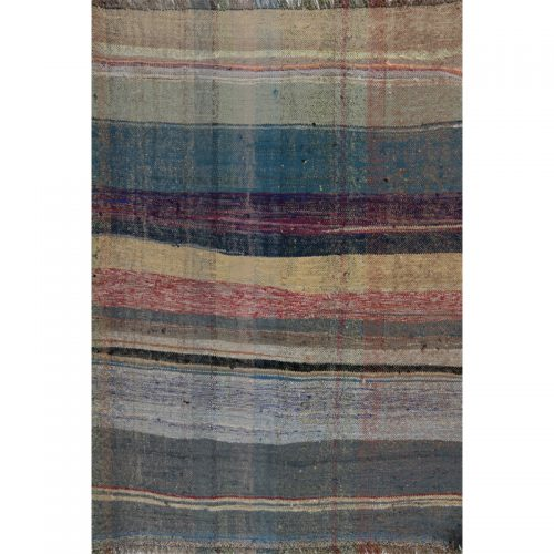 Traditional Flatweave Persian Kilim Tribal Rug 3.0 x 4.3 - 109331