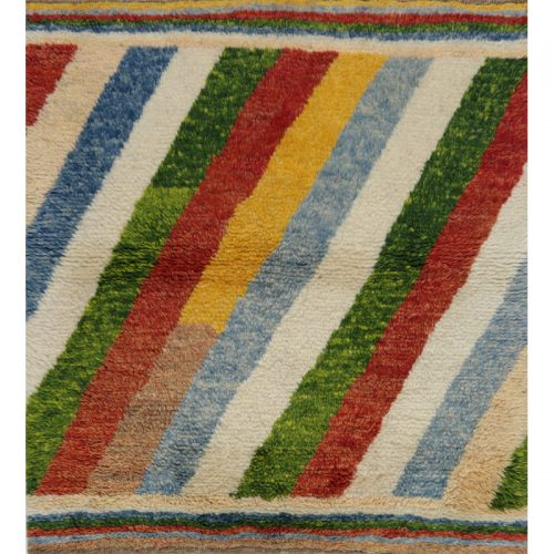 Contemporary Hand-woven Persian Kilim Tribal Rug 3.4 x 3.7 - 109479