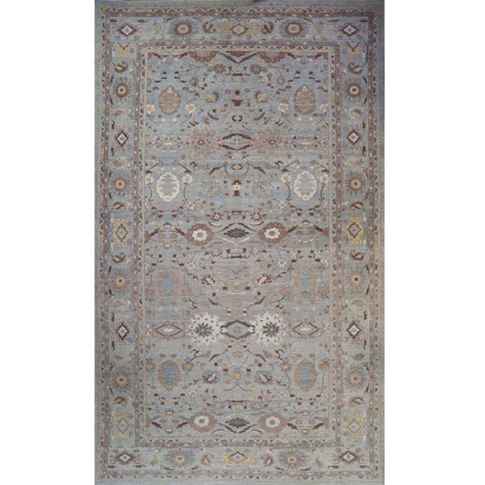Hand-woven Persian Sultanabad Antique Recreation 15.9 x 26.0 - 108719