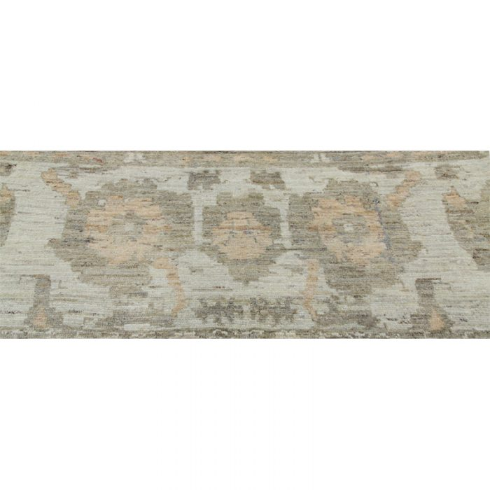 Traditional Hand-woven Persian Sultanabad Rug Fragment 2.4 x 11.0 - 109585
