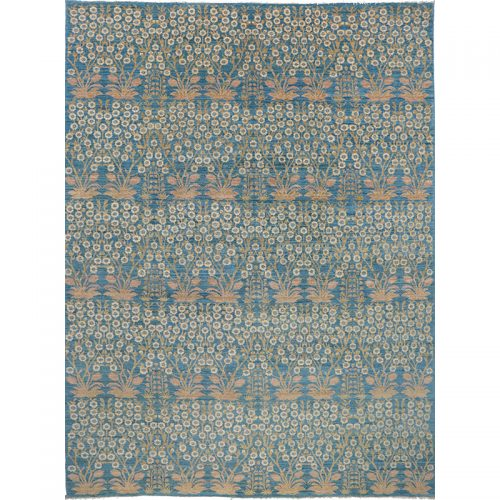 """9'0"""" x 12'3"""" Transitional Style Rug - 500657"""