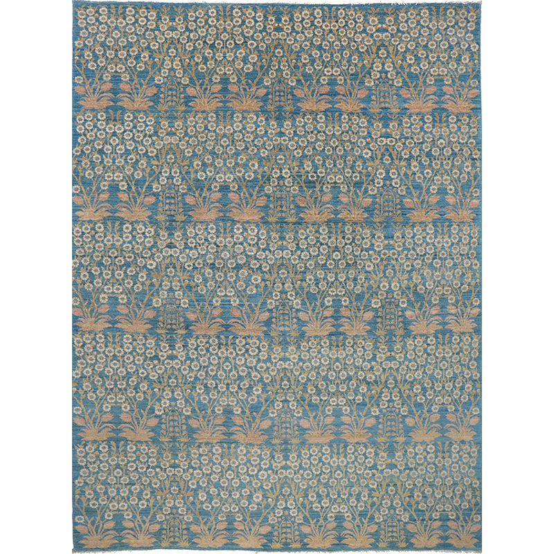 """9'0"""" x 12'3"""" Transitional Area Rug - 500657"""