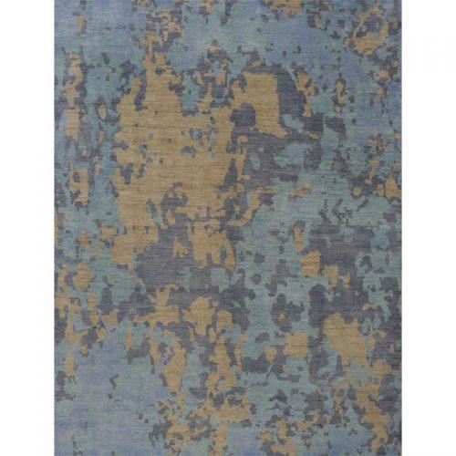 9x12 Modern Abstract Oushak Rug - 500658