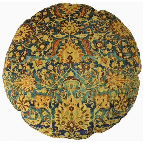 Round Decorative Persian Accent Pillow - 9110831