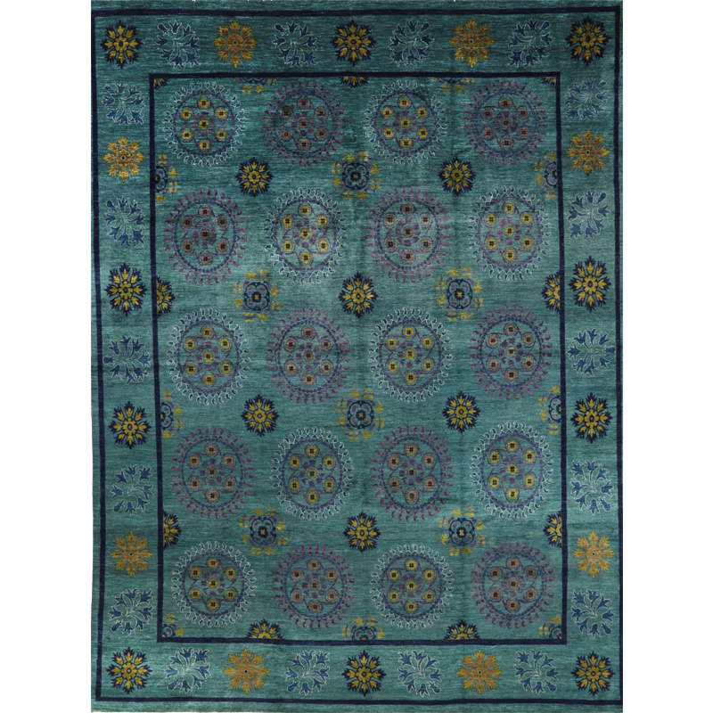 """12'0"""" x 15'10"""" Transitional Area Rug - 500694"""