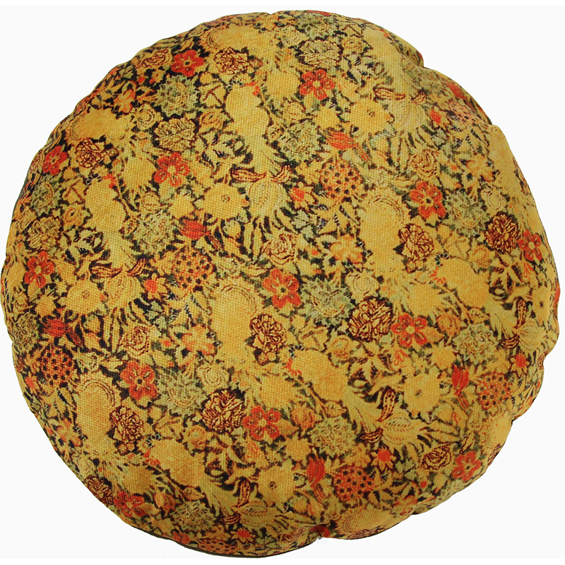 Round Decorative Persian Accent Pillow - 9110838