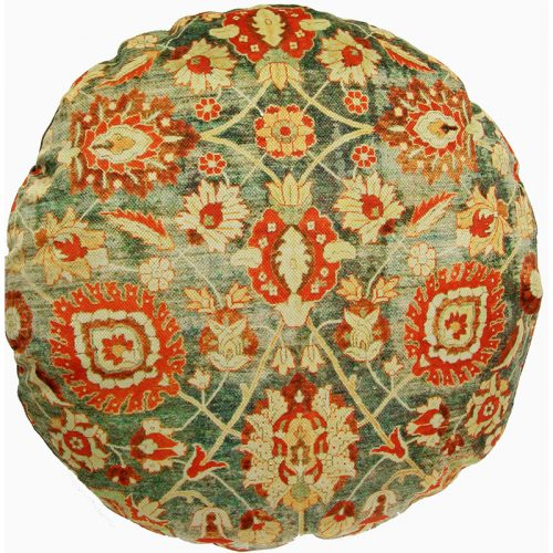 Round Decorative Persian Accent Pillow - 9110841