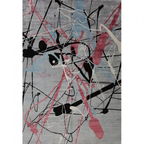 Modern Abstract Area Rug 11.10x18.0 - B500768