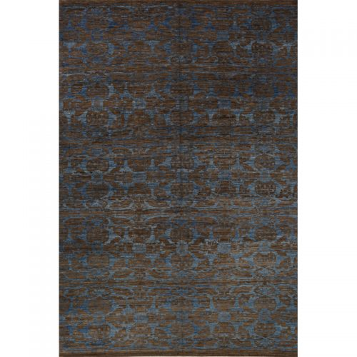 12x18 Modern Abstract Oushak Rug - 500767