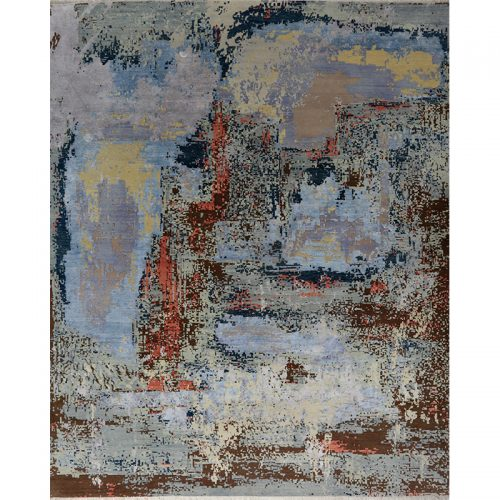 A500676 - Modern Abstract Area Rug 8.2x10.2