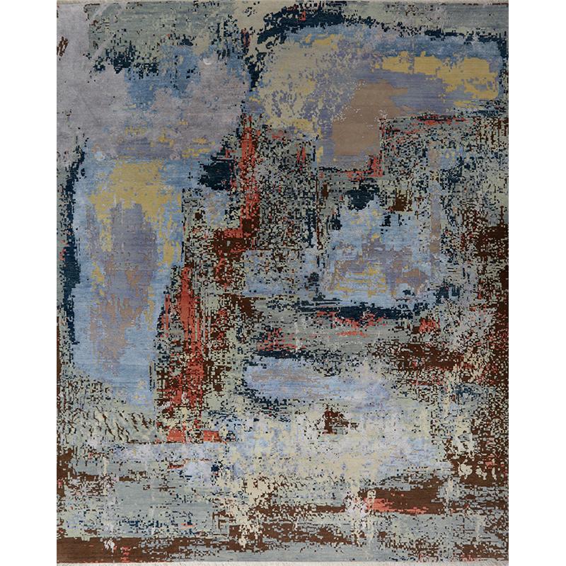 A500676 - Modern Abstract Area Rug 8.2x10.2