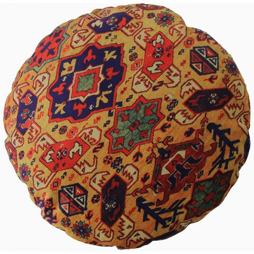 Round Decorative Persian Accent Pillow - 9110846