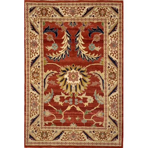 Mahal Style Area Rug 4.0x6.0 - C110651