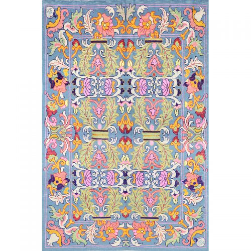 """6'8"""" x 9'7"""" Persian Sultanabad Rug - 110420"""