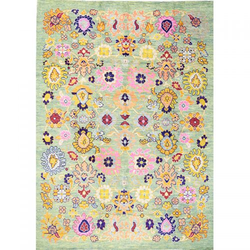 """8'3"""" x 11'6"""" Persian Sultanabad Rug - 110394"""