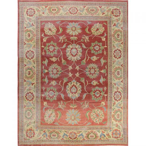 """9'10"""" x 13'0"""" Persian Sultanabad Rug - 109850"""
