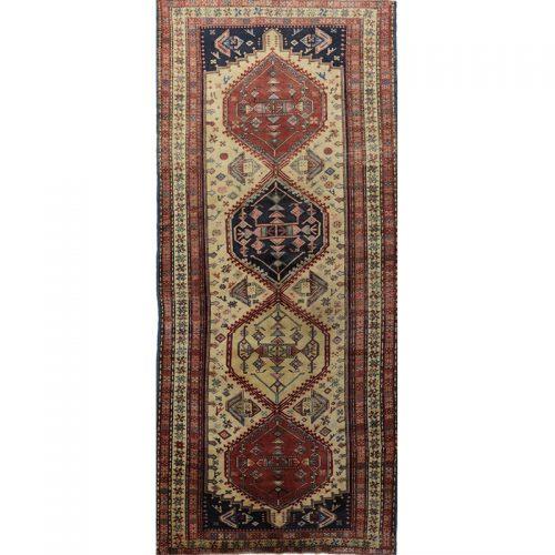 4x10 Old Persian Sarab Rug -110864