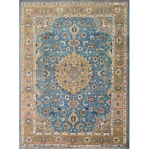 """9'3"""" x 12'7""""Old Persian Tabriz Rug - 110858"""