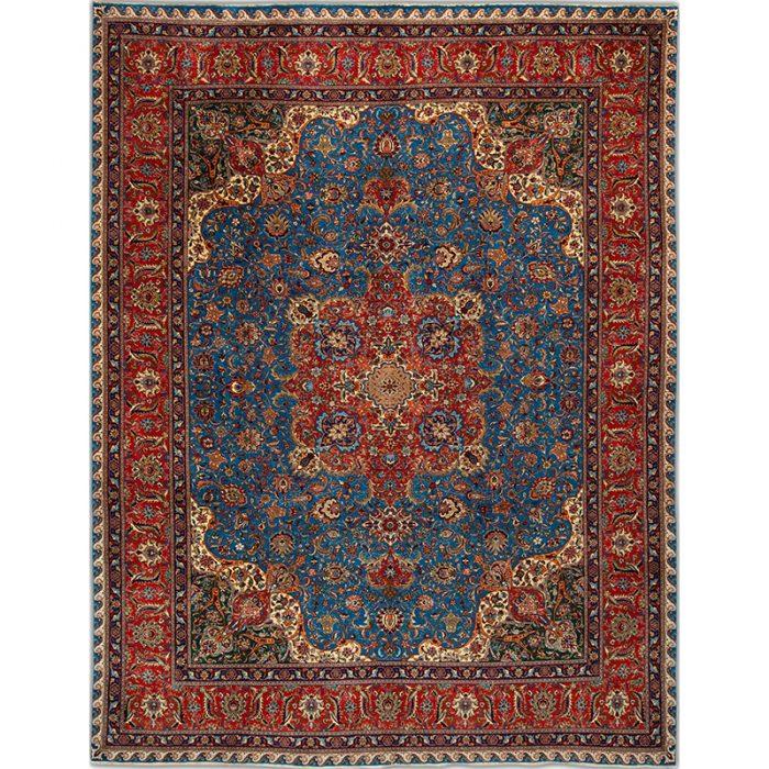 "9'10"" x 12'9"" Old Persian Tabriz Masterpiece Rug - 110842"