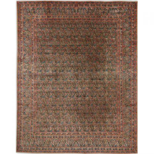 """10'0"""" x 12'3"""" Old Persian Kerman Rug - 110860"""