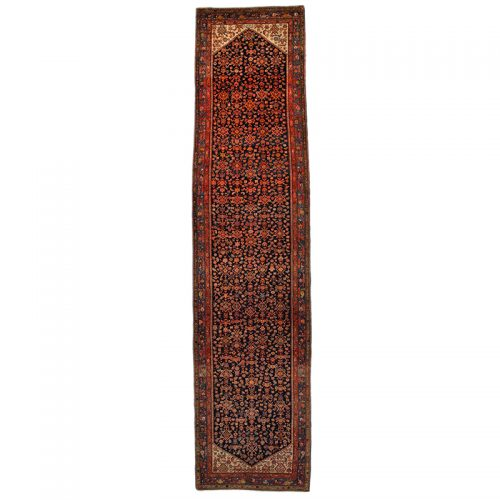 """4'5"""" x 18'4"""" Old Persian Malayer Runner - 110779"""