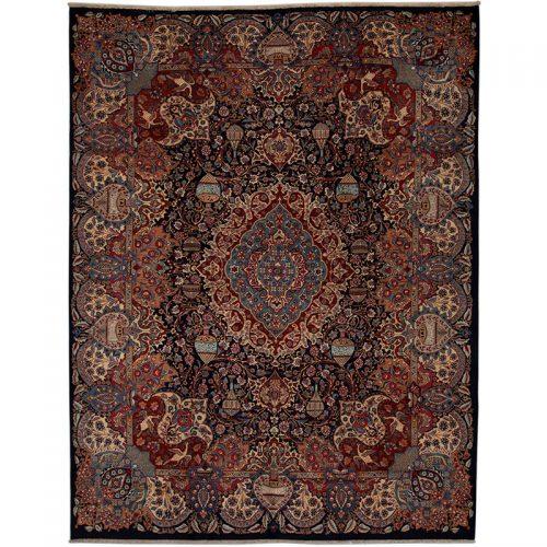 10x13 Old Persian Kashmar Masterpiece Rug - 110801