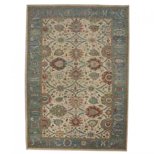 """12'10"""" x 19'5"""" Persian Sultanabad Rug - 110820"""