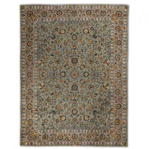 10x14 Old Persian Kashan Area Rug - 110851