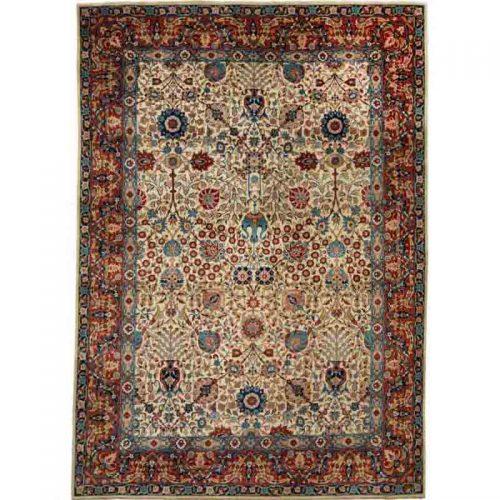 """8'3"""" x 11'7"""" Old Persian Tabriz Rug - 110830"""